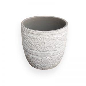 陶瓷花盘(灰色
