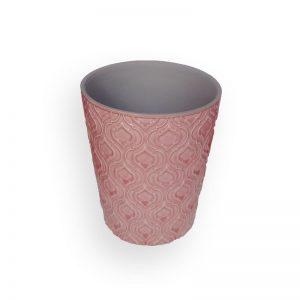 陶瓷花盘(粉红色