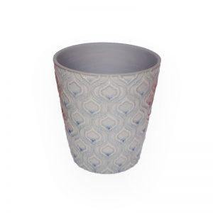 陶瓷花盘(紫色