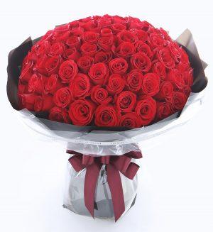 108 Stems Red Rose