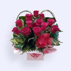 11枝红色玫瑰