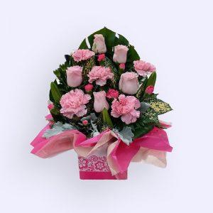 11 Stems Flower (Pink Rose
