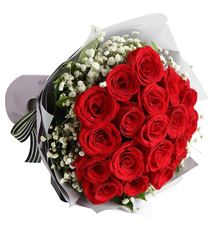 19 Stems Red Rose