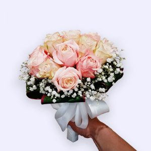 20枝玫瑰的婚礼手捧花