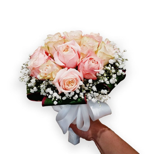 20 Stems Rose Wedding Bouquet