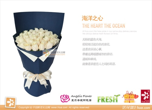 29 Stems White Rose