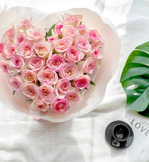 33 Stems Pink Rose