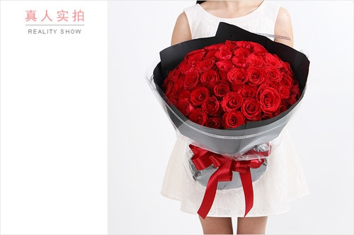 66 Stems Red Rose