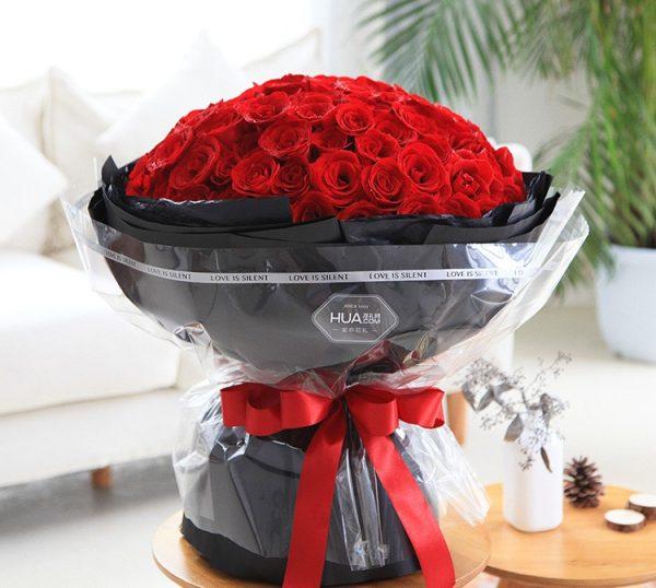 99枝红玫瑰/不变的承诺