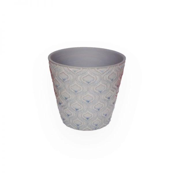 Ceramic flower Pot (Purple