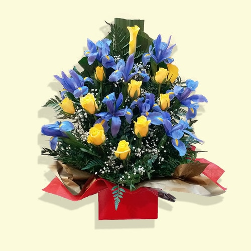 Over 18 Stems Flower (Yellow Rose & Others 2)
